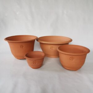 Pots rounded